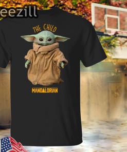 Baby Yoda The Mandalorian The Child T-Shirts