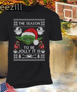 Baby Yoda Ugly Christmas T-Shirt