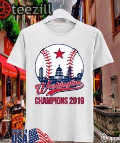 Baseball Vintage Washington Champions Shirt