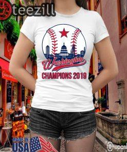 Baseball Vintage Washington Champions T-Shirt