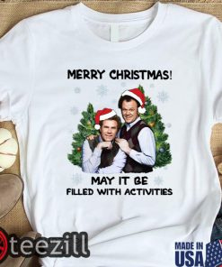 Boats And Hoes Merry Christmas May It Be Filled With Activities Shirts