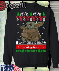 Christmas Is A Baby Yoda Sweater Shirt