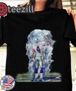 Cowboys Nation Of Legends Dallas Cowboys Dak Prescott Shirt