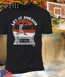 Let It Sneaux Alex Bregman Shirt