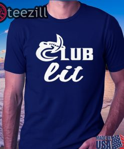 Man's Men's Club Lit T-shirt Charlotte 49ers Shirt