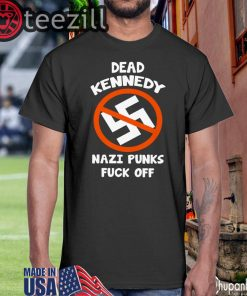 Nazi Punks Fuck Off Black Shirt