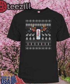 Reinbeer Coors Light Sweatshirt Reindeer Beer Christmas Shirt Beer Ugly Sweater Xmas Gift