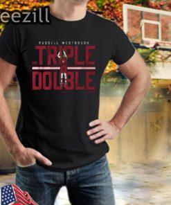 Russell Westbrooh MR. Triple Double TShirt