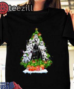 Star Wars Darth Vader And Stormtrooper Christmas Shirt