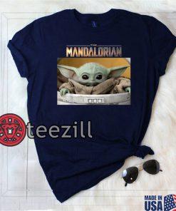 The Mandalorian The Child Pod Screenshot Logo T-Shirt