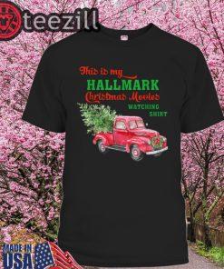 This is My Hallmark Watching Movie Gift For Men Women Kids Shirt