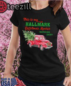This is My Hallmark Watching Movie Gift For Men Women Kids T-Shirts