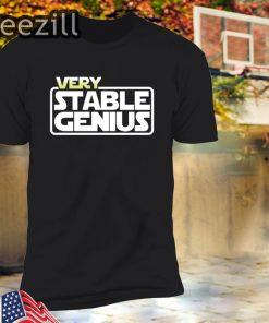 Very Stable Genius Will Ferrell Shirt