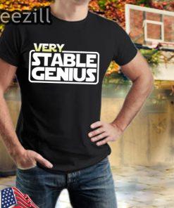 Very Stable Genius Will Ferrell TShirt