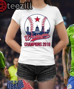 Vintage Washington Champions 2019 T-TShirt