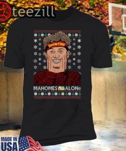 Xmas Showtime Mahomes Alone Christmas Sweatshirt