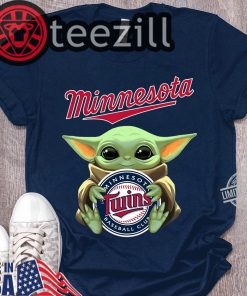 Baby Yoda Hug Minnesota Shirt Classic Tshirt