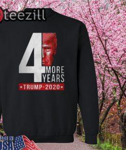 Donald Trump 2020 4th more years sweatershirt