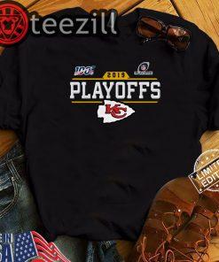 Kansas City Chiefs Playoffs TShirt