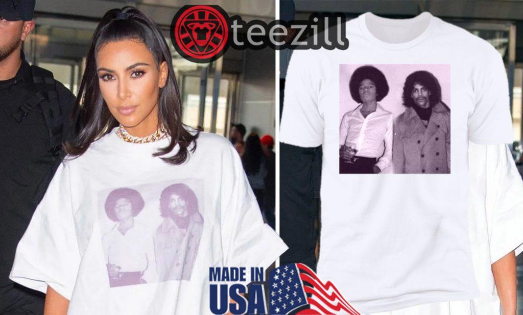 Kim Kardashian Jfk T Shirt - Michael Jackson & Prince T Shirt - teezill