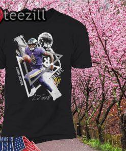 Lamar Jackson 8 AFC Signature Tshirt