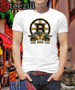 Logo Boston Bruins Player Shirt Yoda T-Shirts