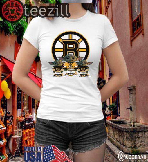 Logo Boston Bruins Player Shirts Yoda T-Shirt