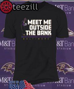 Meet Me Outside the Bank Shirt Mark Ingram T-shirts