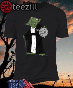 Men's Master Yoda Brooklyn Nets Shirt