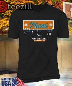 Miami Mountaineer Shot Shirts Limited Edition Official