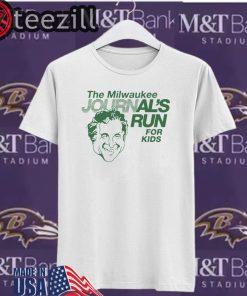Milwaukee Journal Shirt Milwaukee Journal's Run For Kids T-Shirts