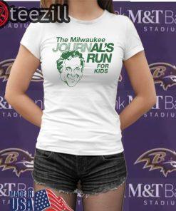 Milwaukee Journal Shirt Milwaukee Journal's Run For Kids TShirt