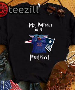 New England Patriots is a Baby Yoda My Patronus Shirts