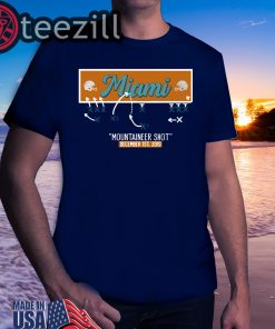 New Official Miami Mountaineer Shot T-Shirts
