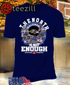 North Is Not Enough Packers T-Shirt – Packers NFC North Champions