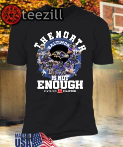 North Is Not Enough Packers T-Shirts – Packers NFC North Champions