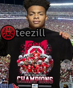 Official 2019 Big Ten Conference Champions Player Shirt Tshirts