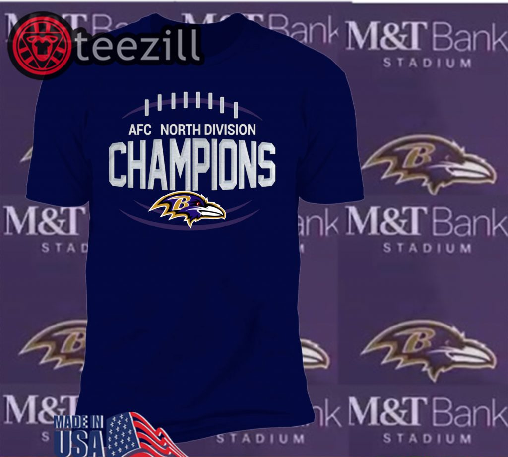 Baltimore Ravens AFC West Champs Shirts