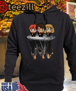 Official Harry Potter Chibi Water Mirror Reflection Tshirts