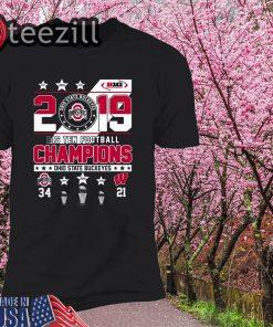 Ohio State Buckeyes 2019 Big Ten Football Champions Tshirt