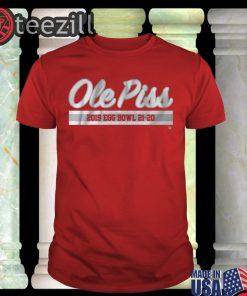 Ole Piss 2019 Egg Bowl 21-20 Shirts