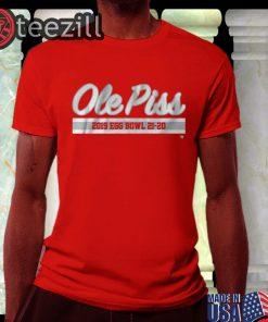 Ole Piss Egg Bowl Shirts - Starkville MS Football Tee