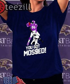 Randy Moss Over Charles Woodson You Got Mossed TShirt