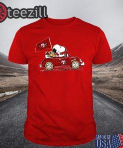 Snoopy And San Francisco FC Tee Shirt