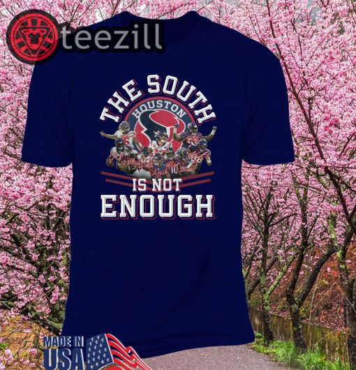 Texas the South is not enough Division Champions Tshirts