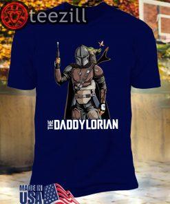 The Daddylorian Baby Yoda Mandalorian TShirt