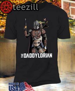 The Daddylorian Baby Yoda Mandalorian TShirts