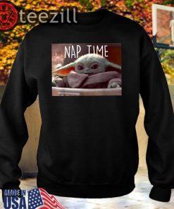 The Mandalorian The Child Nap Time T-Shirt