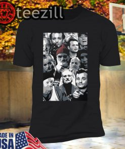 The many faces of Bill Murray T-shirt
