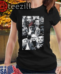 The many faces of Bill Murray T-shirts